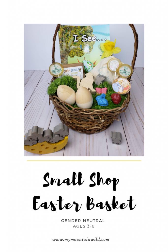 Small Shop Gender Neutral Easter Basket