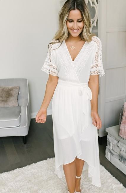 6955d9340f 20 White Boho Dresses under $200 | My Mountain Wild