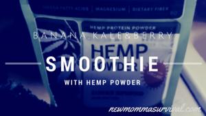 hemp smoothie