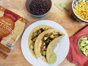 butternut squash black bean tacos