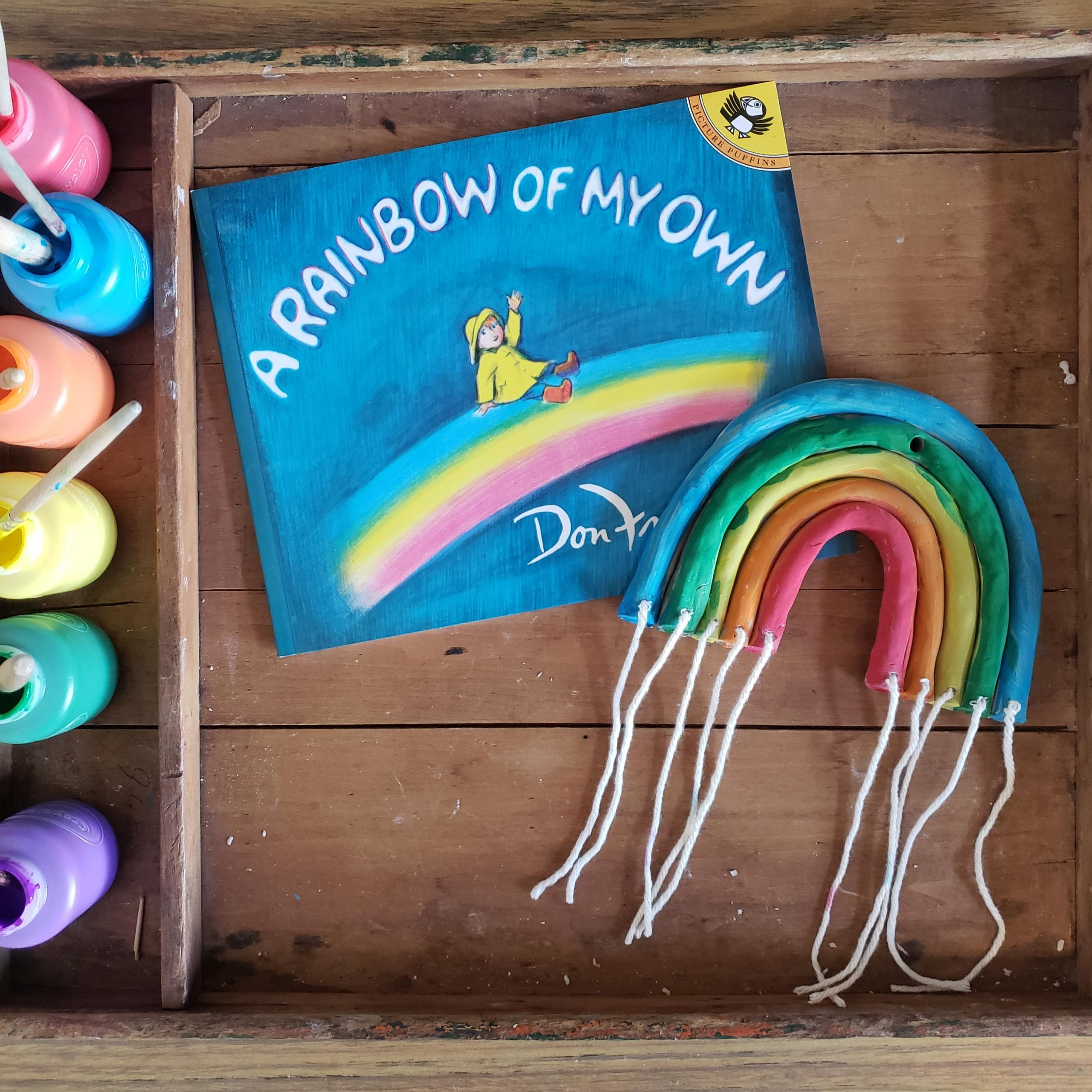 A rainbow of my own- a storytime activity