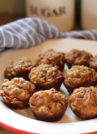 garden mini muffins