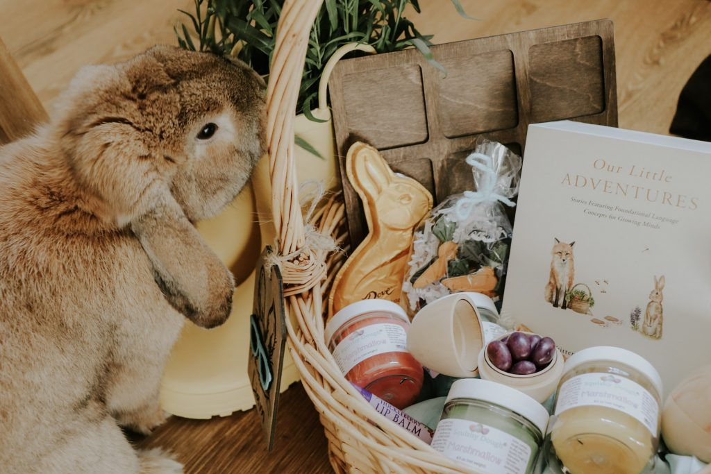 mindful easter basket for kdis