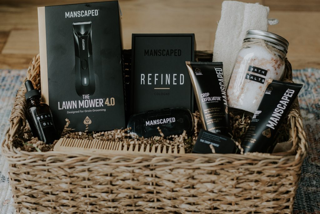 Father's Day Gentleman's Spa Gift Basket For Your Hubby